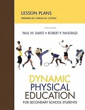 Lesson Plans for DPE Secondary School Students (6th Edition) Casten, Carol Pape