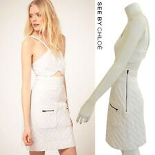 SEE BY CHLOE White Cut Out Dress Size 6