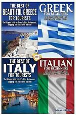 Travel Guide Box Set: The Best of Beautiful Greece for Tourists and Greek for...