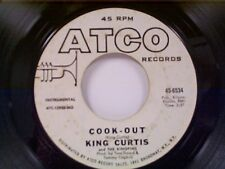 """KING CURTIS :COOK-OUT / FOR WHAT IT'S WORTH"""" 45 PROMO"""