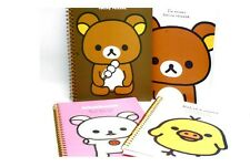San-X Rilakkuma Line Spiral Notebook, Journal - 4 Diffident Design