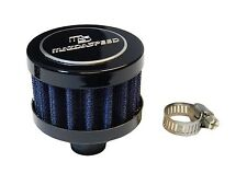 MAZDA JDM 9MM RACING MINI AIR OIL BREATHER FILTER - BLUE