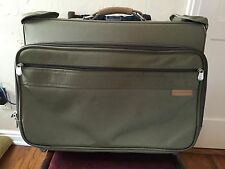 Briggs and Riley Baseline 22 x14 x8.5  Garment Bags - Olive