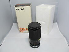 Vivitar 70-150mm f3.8 Auto Zoom for OLYMPUS O/OM ~ Original Box