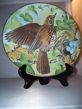 "Song Thrush by Basil Ede 9"" Collectors Bird Plate 1984"