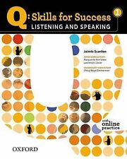Q Skills for Success: Listening and Speaking 1: Student Book with Online...