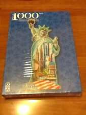 Statue of Liberty USA 1000 Piece Shaped Puzzle World Trade Center  NEW FX Schmid