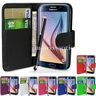 WALLET FLIP PU LEATHER CASE COVER POUCH FOR SAMSUNG GALAXY S6 G920 MOBILE PHONE