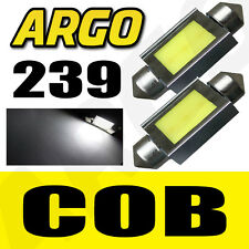 2X 239 272 C5W ERROR FREE LED SMD COB FESTOON WHITE LICENCE PLATE LIGHT BULBS