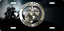 US Marines semper fi new design Airbrushed car tag license plate 49