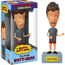 FUNKO BEAVIS AND BUTTHEAD TALKING BUTTHEAD WACKY WOBBLER BOBBLE HEAD BRAND NEW