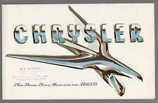 [60754] 1956 CHRYSLER CAR MODELS BROCHURE (WINDSOR & NEW YORKER)