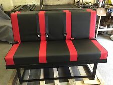 *****  FULL WIDTH ROCK N ROLL BED BLACK AND RED*****