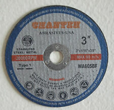 "50pcs pro 3""x1/16""x3/8"" CUT-OFF WHEEL SS & Metal cutting Disc"