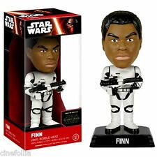 Bobble-head Star Wars VII TFA Stormtrooper Gear Finn wacky wobbler 15 cm Funko