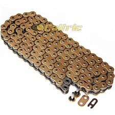 525 x 120 Links Motorcycle ATV GOLDEN O-Ring Drive Chain 525-Pitch 120-Links