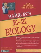 NEW - E-Z Biology (Barron's E-Z)