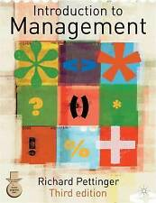 Introduction to Management: Third Edition