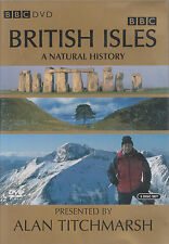 BRITISH ISLES: A NATURAL HISTORY - Complete Series. Alan Titchmarsh (3xDVD BOX)