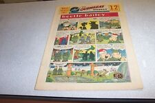 COMICS THE OVERSEAS WEEKLY 19 JULY 1959 BEETLE BAILEY THE KATZENJAMMER KIDS
