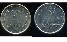 CANADA 10 cents  2005