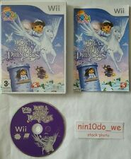 DORA THE EXPLORER SAVES THE SNOW PRINCESS Wii & U-DOORA+PEGASUS+FAIRY=gc✔