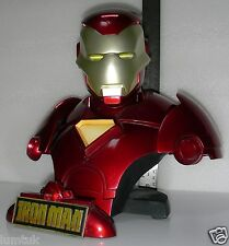 Marvel Sideshow Collectibles EXCLUSIVE IRON MAN Legendary Scale Bust # 211 / 400