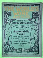 THE WORLD'S WORK & PLAY - Edwardian Shilling Monthly - Feb. 1905 - Henry Norman