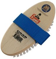 Equerry Body Brush- Adult Size grooming brush for horses - Wooden back