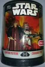 STAR WARS ORDER 66 TARGET EX TWO PACK 1 OF 6 EMPEROR PALPATINE & COMMANDER THIRE
