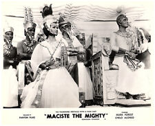 MACISTE THE MIGHTY ORIGINAL LOBBY CARD MARK FOREST SON OF SAMSON CHELO ALONSO