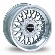 "4 x 15"" Ronal LS Silver Polished Alloy Wheels  - WBA5486"