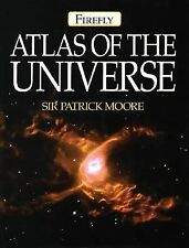 Firefly Atlas of the Universe by Patrick Moore (2003, Hardcover)