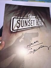 Sunset Boulevard-Signed Theatre Program-Betty Buckley-Broadway-Andrew Lloyd Webb