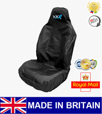 VXR BLUE / CAR SEAT COVER PROTECTOR SPORTS BUCKET HEAVYDUTY - Vauxhall Astra VXR