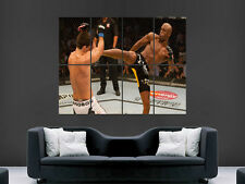 UFC ANDERSON SILVA DEMIAN MAIA WALL LARGE IMAGE GIANT POSTER !!