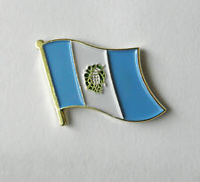 GUATEMALA NATIONAL COUNTRY WORLD FLAG SINGLE LAPEL PIN BADGE 1 INCH