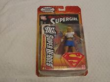 DC Superheroes Series 2 Supergirl Mattel with Comic Book New Free Shipping