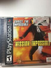 MISSION: IMPOSSIBLE - Sony Playstation Game! PS1 PS2 PS3 Black Label Complete