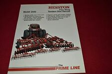 Hesston 2440 Disc Harrow Dealer's Brochure DH-1-981 LCOH