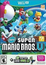 WIIU ADVENTURE-NEW SUPER MARIO BROS U + NEW SUPER LUIGI U (2 GAMES ON 1  WII NEW