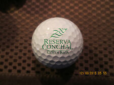 LOGO GOLF BALL-RESERVA CONCHAL GOLF CLUB...COSTA RICA...PROV1 BALL...RARE