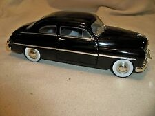 Ertl 1:18 scale American Muscle 1949 Ford Mercury Coupe Car w/box Black