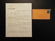 1879 Old Established Law of Office of A. C. Smith letter and envelope