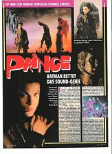 PRINCE Batman Dutch Photo/ ARTICLE / clipping 10x8 inches