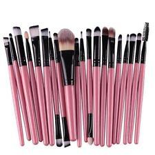 20Pcs Set Makeup Brushes Powder Foundation Eyeshadow Eyeliner Lip Cosmetic Brush