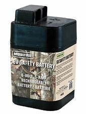 Moultrie 6 Volt Rechargeable Safety Battery for Automatic Deer Feeders |SRB6