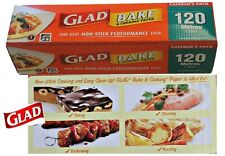 Glad Bake Paper 120 Metre x 30cm Glad Bake Caterers Pack Grease Proof Paper