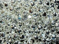 100Pcs Top Quality Czech Crystal Rhinestone Pendant Spacer Beads 4mm 5mm 6mm 8mm