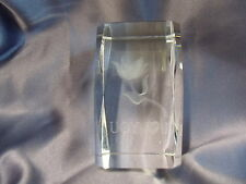 CRYSTAL PAPERWEIGHT SMALL IN ORIG BOX CHOOSE 1   I LOVE YOU VALENTINE'S GIFT